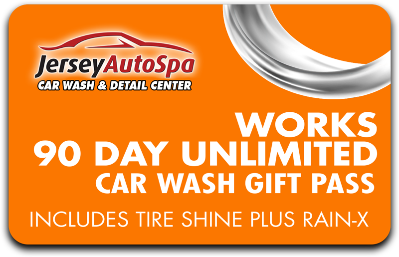 Works Car Wash - 90 Day Unlimited for Long Branch Location
