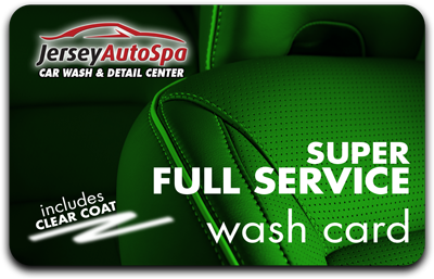 Buy 5 Full Service Super Washes - Get 3 Free!
