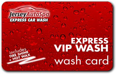 Buy 5 Express VIP Washes for only $60!