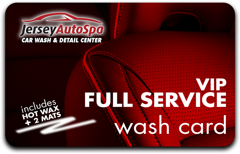 Buy 5 Full Service VIP Washes - Get 2 Free!