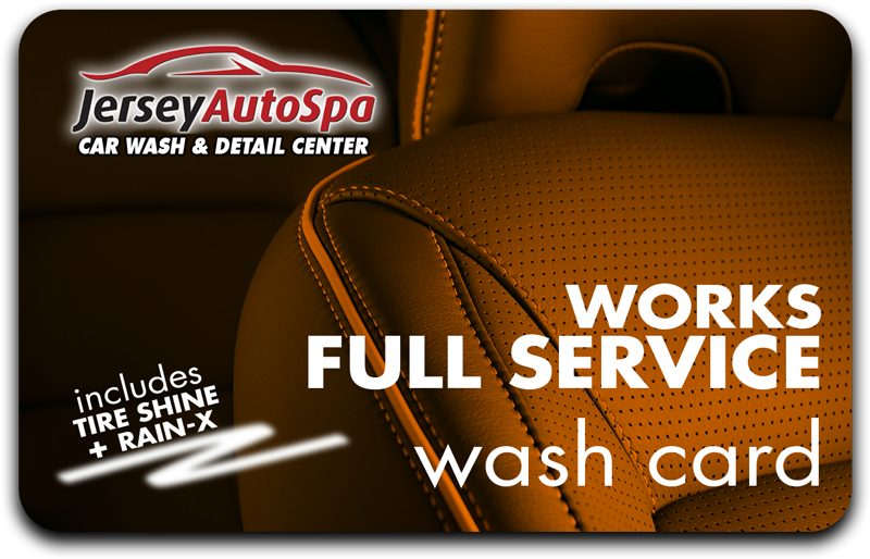 Buy 5 Full Service Works Washes - Get 2 Free!