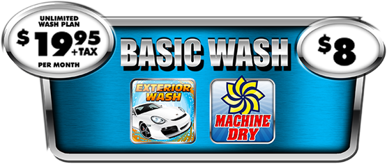The Basic Car Wash Package