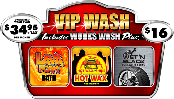 VIP Car Wash Package